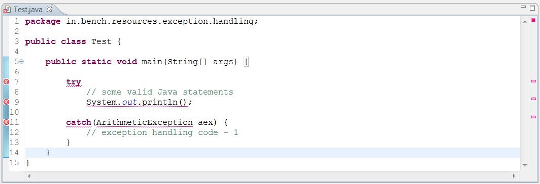 Exception Handling Java Interview Questions & Answers 4
