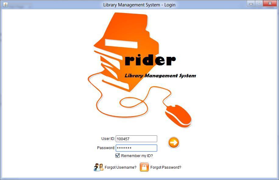Library Management System Login test cases