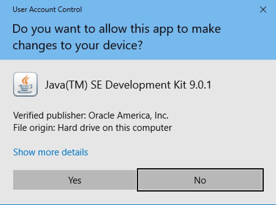 java installer windows