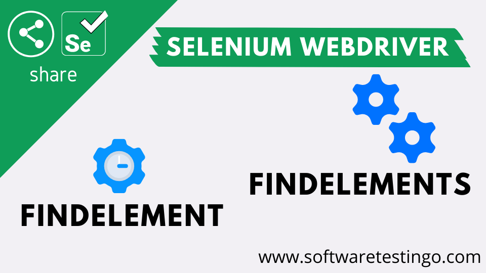 FindElement And FindElements Methods With Example