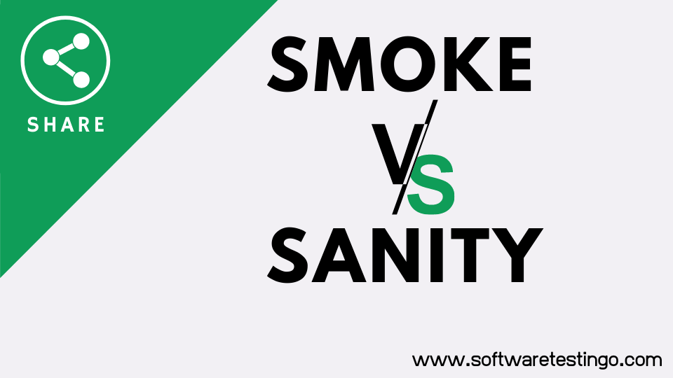 Smoke VS Sanity