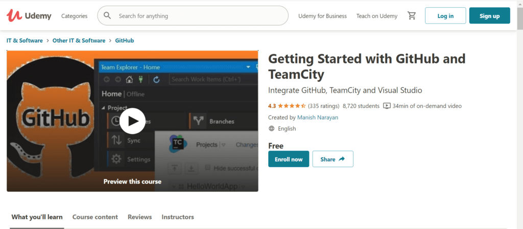 Getting Started with GitHub and TeamCity