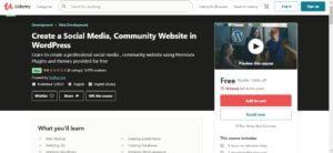 Create a Social Media, Community Website in WordPress 1