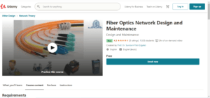 Fiber Optics Network Design and Maintenance 1