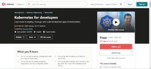 Kubernetes For Developers 1