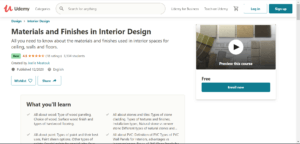 Materials and Finishes in Interior Design 1